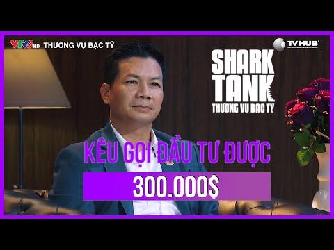 Shark Tank Việt Nam Tập 1  Kỷ Lục Startup Nhận Số Tiền Đầu Tư Gấp 6 Lần Số Tiền Mong Muốn   Mùa 2