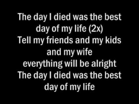 Just Jack - The Day I Died (lyrics)