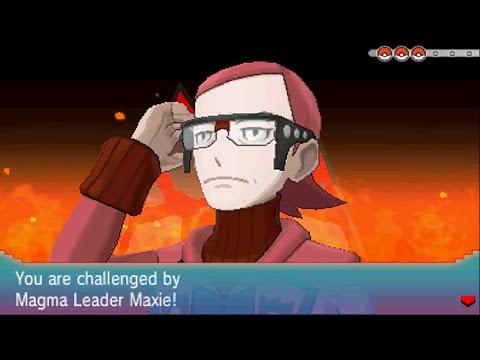 Pokemon Omega Ruby - Team Magma Leader: Maxie (1st Battle)