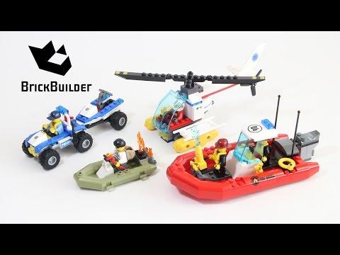 Lego City 60086 Lego City Starter Set Lego Speed Build Youtube