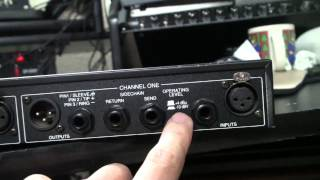 Video Setting proper gain structure and hooking up a compressor to your mixer download MP3, 3GP, MP4, WEBM, AVI, FLV Juni 2018