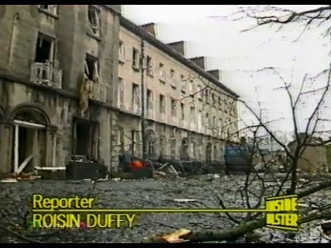 IRA BOMB The Mall ARMAGH CITY 1987 - BBC News Report