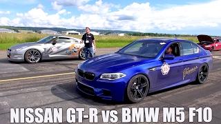 730HP BMW M5 F10 w/ Meisterschaft Exhaust - REVS & ACCELERATION!