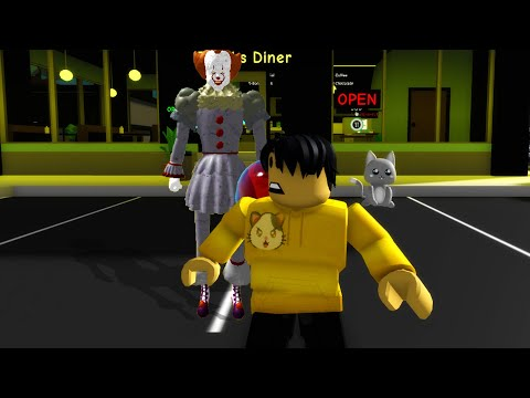 Pennywise is dangerous in Roblox BrookHaven