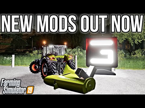 NEW MODS FS19! HAND SHOVEL, SNOW BLOWER, + GIANTS WORKSHOP! | FARMING SIMULATOR 19