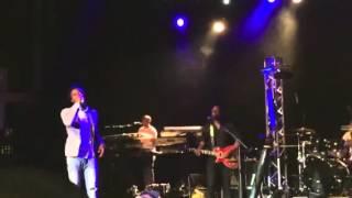 Romain Virgo - mi can't sleep/I feel good cover live
