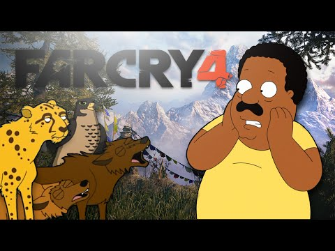 """Cleveland Plays: Far Cry 4! """"Damn Nature! You scary!"""""""