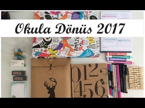 KIRTASİYE ALIŞVERİŞİ! 2017 OKULA DÖNÜŞ (Yurtdışı, D&R, Aliexpress)