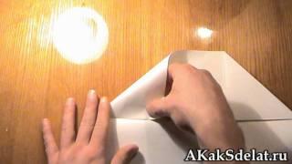 Как из бумаги сделать конверт(Как из бумаги сделать конверт. Остальные поделки на http://AKakSdelat.ru/ . . . Как сделать из бумаги, как сделать..., 2012-01-15T11:23:44.000Z)