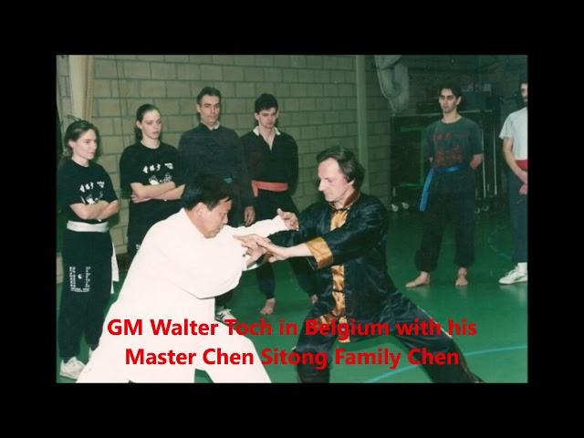 GM with Traditionel Taijiquan Chen with Chen Sitong 18e generation & Family Chen
