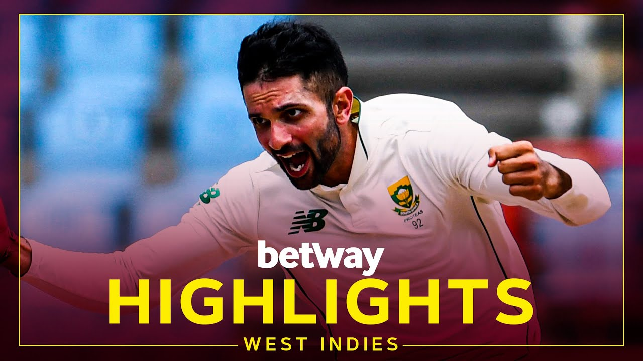Download Highlights | West Indies vs South Africa | Maharaj Takes Hat-Trick | 2nd Betway Test Day 4 2021
