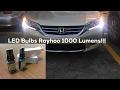 LED Strip Installation Honda Accord 2013 Sport | 1000 Lumens