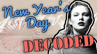 New Year's Day - Taylor Swift Lyrics Explained & DECODED