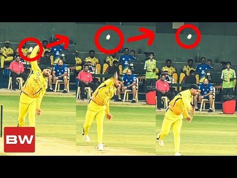 CSK: Harbhajan's Funniest Bowling Fail | IPL 2018