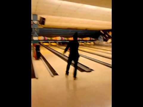 Bowling with Jean in Berlin
