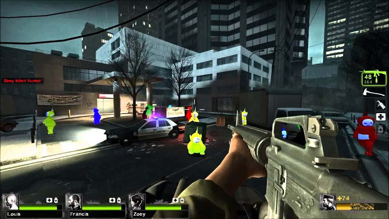 The most convincing argument for playing left 4 dead 2 on pc ever.