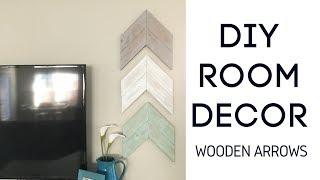 Diy Room Decor   Wooden Arrows | $4 Lumber