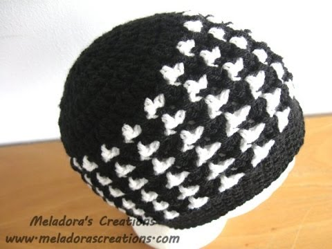 Birds Of A Feather Beanie Crochet Tutorial Youtube