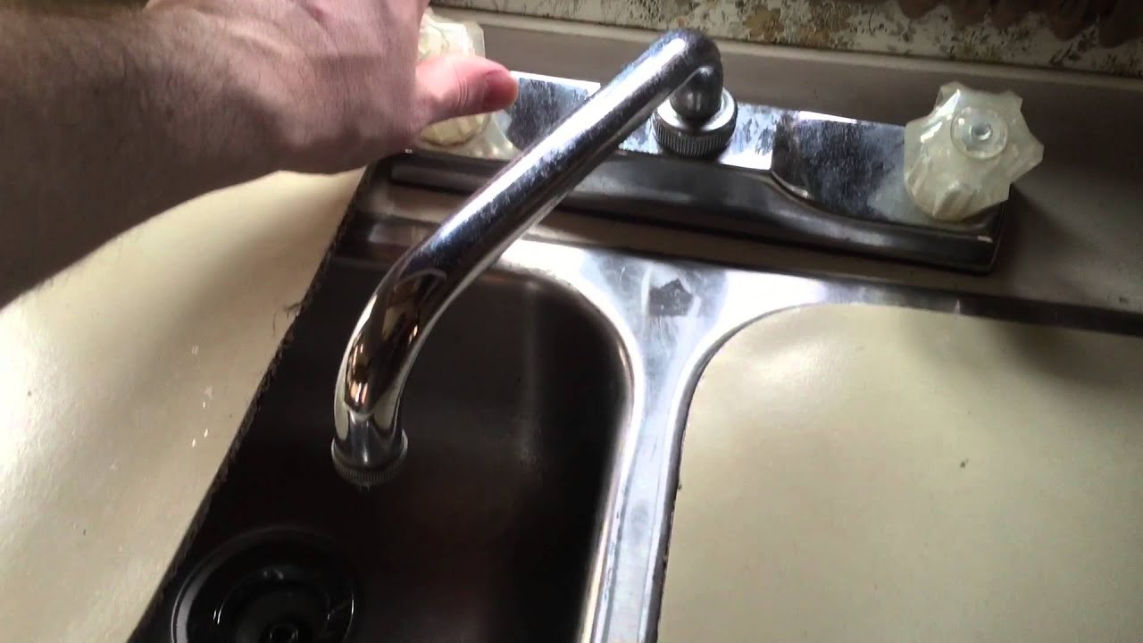 RV Faucet Leak Update - YouTube