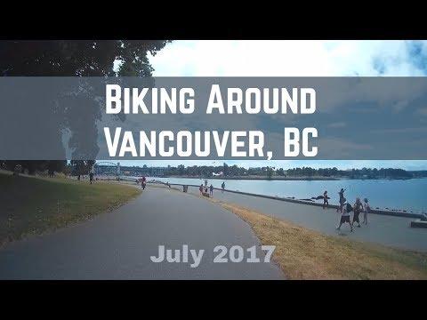 Biking in Vancouver, July 9