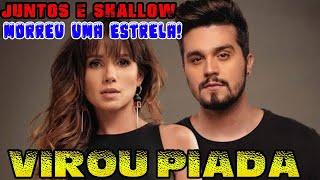 Música de Paula Fernandes e Luan Santana *JUNTOS E SHALLOW NOW* vira chacota na internet