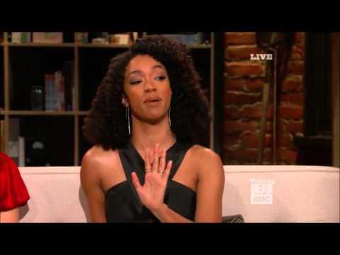 Talking Dead  Sonequa MartinGreen on Sasha & Abraham