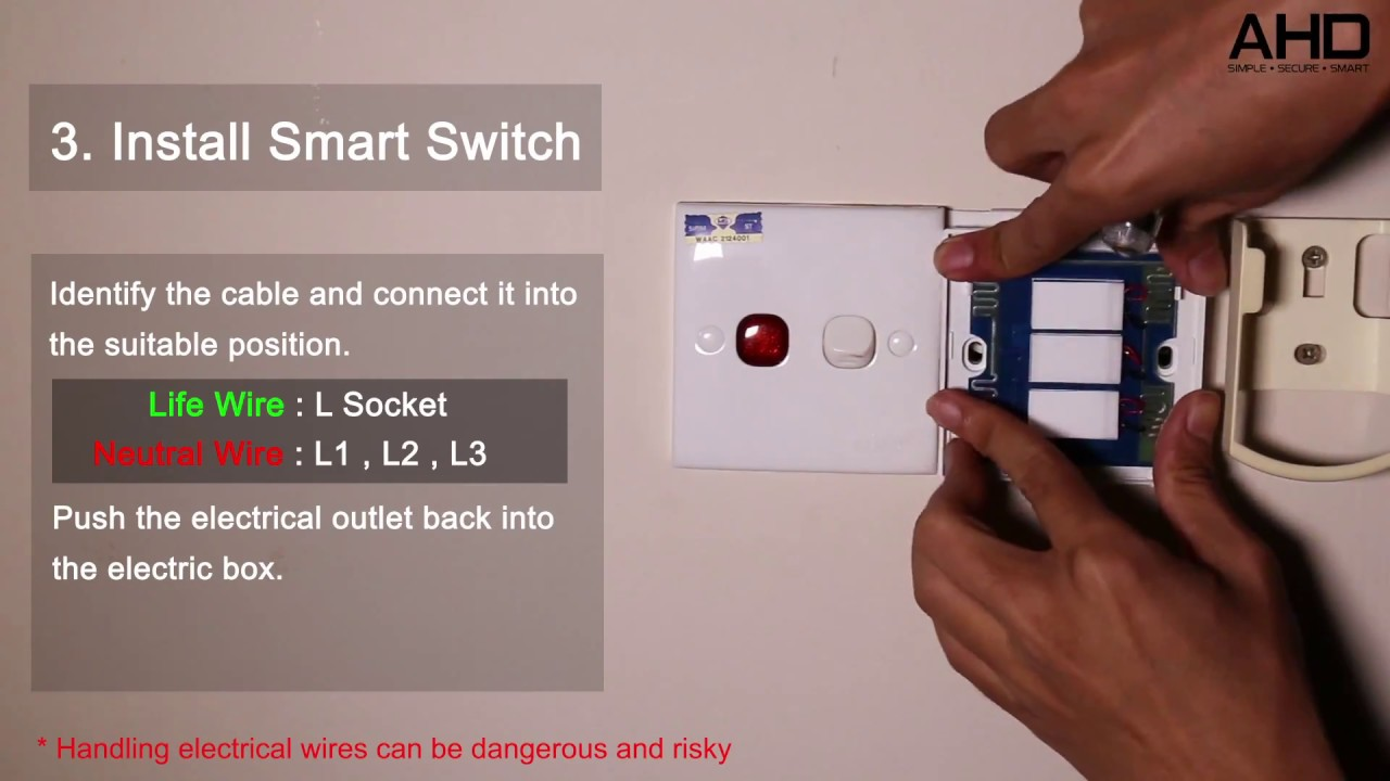 broadlink smart home switch installation just simple and easy smart home [ 1280 x 720 Pixel ]