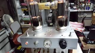 트랜스 LCR 포노앰프  211 파워앰프