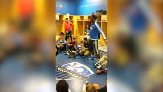 Didier Drogba danse avec l