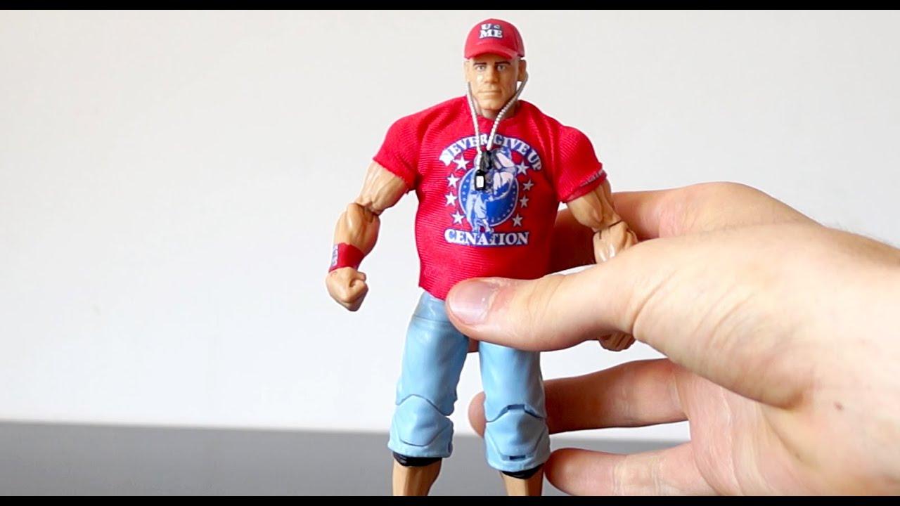 John cena action figure 2010
