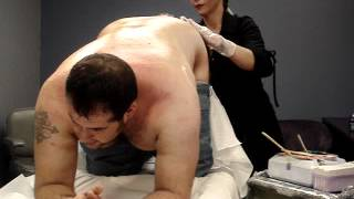 Repeat youtube video Govia gets his ass waxed!