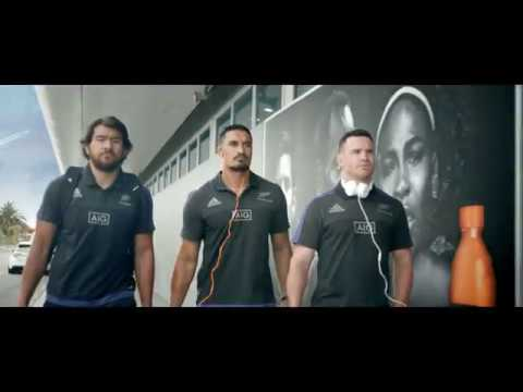 Gatorade - For getting the All Blacks over the line
