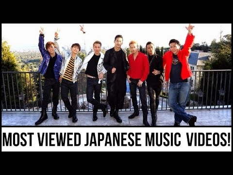 The Top 50 Most Viewed J-POP and J-Rock Music Videos! {As Of September 2016)