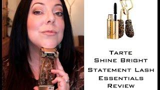 Tarte Shine Bright Statement Lash Essentials | Product Review