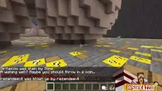 Minecraft: BUNDA DE LUCKY BLOCK #1 (c/ Rezende, Miss e Luiz) - A BUNDA MAIS GOSTOSA!! xD