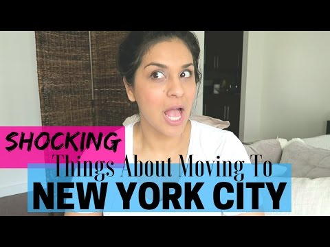 5 MOST SHOCKING Things About Moving to NEW YORK CITY