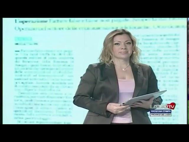 RASSEGNA STAMPA PROVINCE DEL LAZIO del 03.03.2021