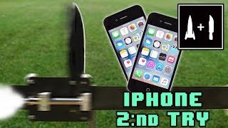 Rocket Knife Vs Iphone Second Try