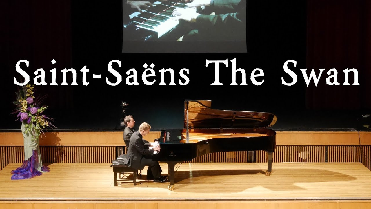 SAINT-SAËNS - THE SWAN - PIANO DUET – SCOTT BROTHERS DUO