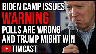 Biden Camp Issues WARNING That Polls Are WRONG, Trump And Republicans Already Have HUGE Advantages