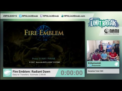 Fire Emblem: Radiant Dawn by Kirbymastah RPG Limit Break 2015 Part 1