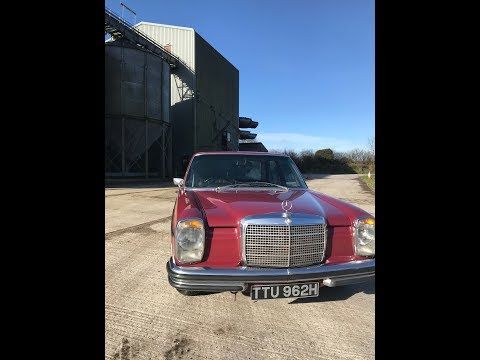 Mercedes W114 250e  1970 for sale in Cornwall
