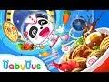 Baby Panda Robot Kitchen | Cooking Game for Kids | Kids Games | Game Trailer | BabyBus Game