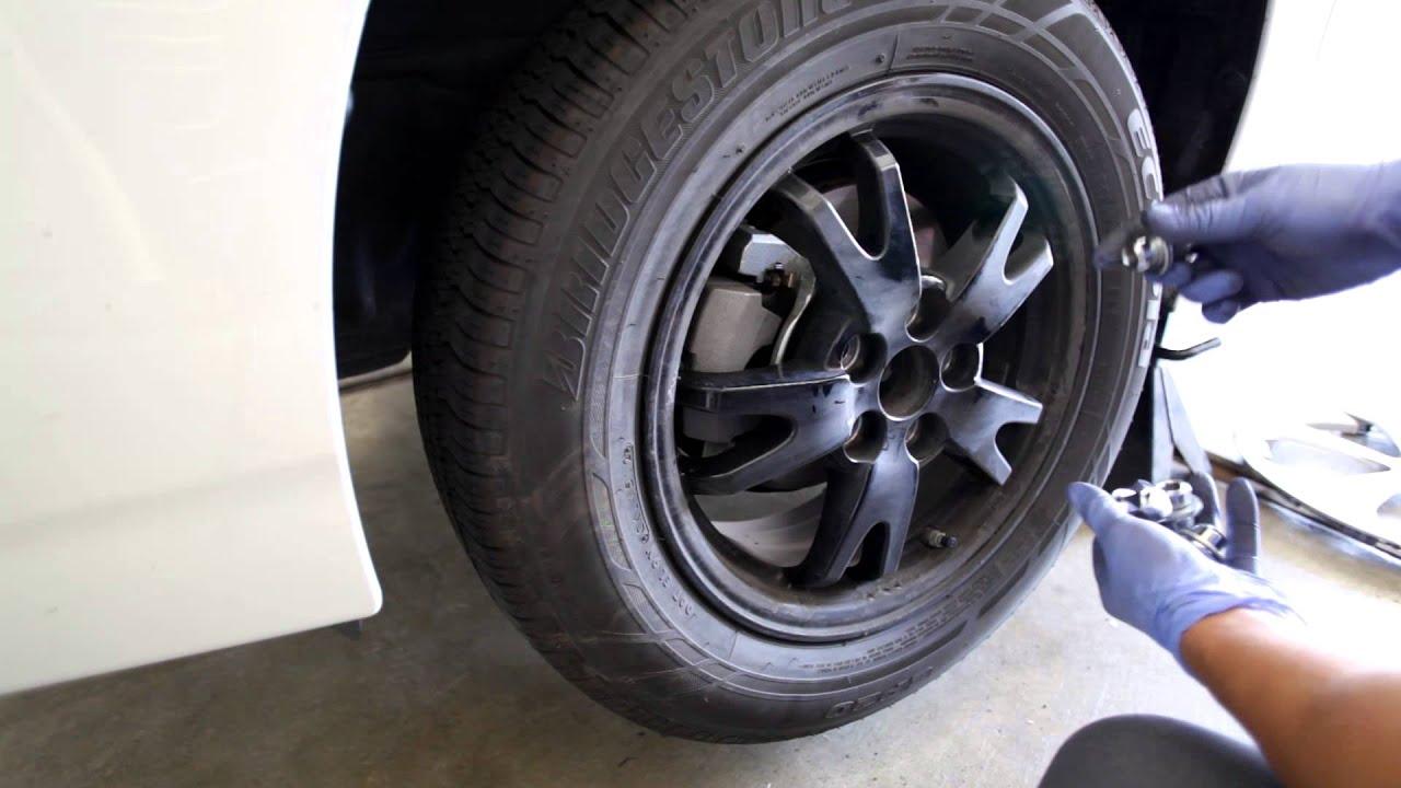 2010 2017 Toyota Prius Tire Rotation