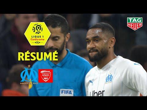 Olympique de Marseille - Nîmes Olympique ( 3-1 ) - Résumé - (OM - NIMES) / 2019-20