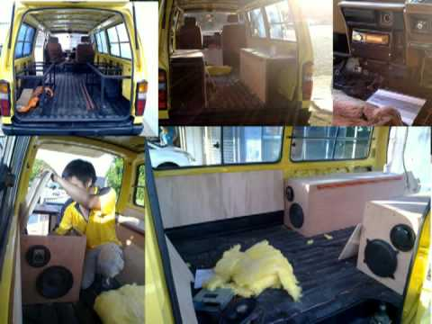85 Toyota Hiace Camper Van Rebuild A To Z Youtube
