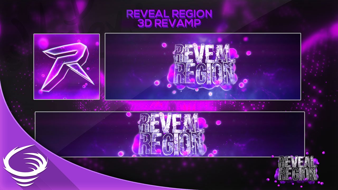 vortex designs - reveal region 3d revamp  speedart