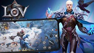 В ожидании League of Valhalla. MMORPG с красивой графикой на Android и iOS. Обзор и геймплей