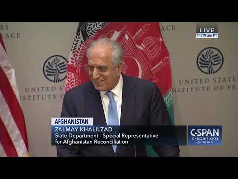 Afghanistan Peace Process with US Envoy Zalmay Khalilzad Feb 8 2019