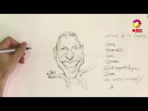 Un retrato rocker #EnLínea: Chris Martin de Coldplay